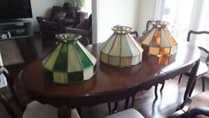 Authentic Tiffany stained glass lights
