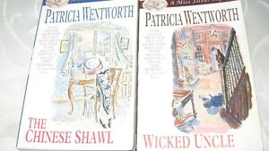 MYSTERY BOOKS BY PATRCIA WENTWORTH