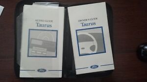Ford Taurus Owner's Manual