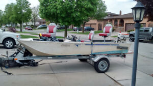 17 ft Aluminum Fishing Boat