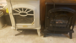 Electric heater / fireplace look a like