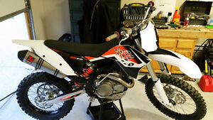 Trade. Showroom Condition KTM 450