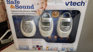 Like new vtech safe and sound digital monitor