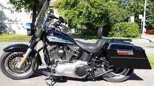 Harley Davidson Fat Boy 2010 avec suspension de Lo West Island Greater Montréal image 2