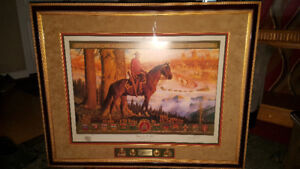 Arnold Friberg Print Limited Edition RCMP Maintaining the Right