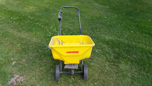 Vigoro push spreader.