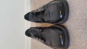 Black Leather Dress Shoes -Size 9- Bostonian. Lightly Used. $20