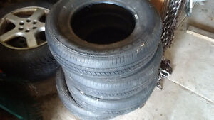 4 Goodyear Integrity Tires 215/70R15 Barely Used