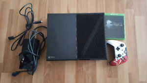 Xbox One 500Gb Console with Overwatch and Final Fantasy 15