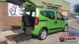 2011 Fiat Qubo Diesel Automatic Disabled Wheelchair Driver Transfer or Up Front