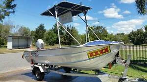 Clark Abalone 14ft Tinnie with 30HP Honda 4 Stroke Outboard Ingham Hinchinbrook Area Preview