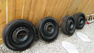 205 55 16 Goodyear Nordic snow tires