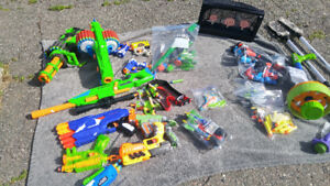 Nerf Shooters - Box lot