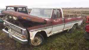 1969 Ford F100 Pickup Truck for Parts
