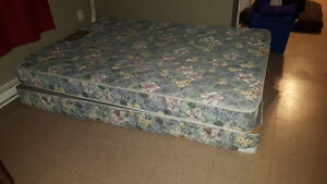 Bed & Box Spring for sale