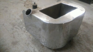 wrap around oil tank