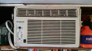 6000btu air conditioner. Price is firm.