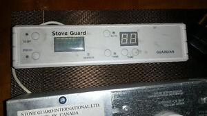 Stove Guard - automatic shut off system