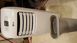 PPRTABLE LG AIR CONDITIONING 7000 BTU- USED