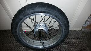 20x4.25 inch  fat wheel brushless motor + 24v speed controller