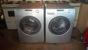 Samsung washer and dryer set 2009