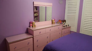 Pink Princess Bed