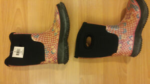 Girls Size 13 Rainboots (2 pairs)