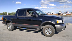 2002 Ford F150 4x4 XLT SuperCrew