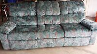 Dual Reclining Sofa and Chair
