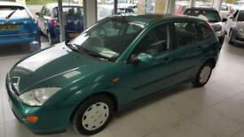 2001 FORD FOCUS LX TDDI Green Manual Diesel