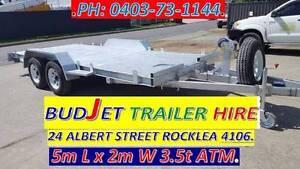 TRAILER HIRE CAR 4X4 HVY DUTY 3.5T ATM TILT from $85 OPTION 5 22# Rocklea Brisbane South West Preview