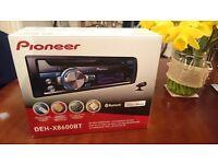 Pioneer deh x 8600bt head unit.