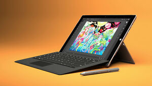 Used but like new Surface Pro 3 i5 128GB with Type Cover + Pen