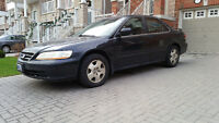 2002 Honda Accord EX-L Sedan Heated Leather Seats Sunroof