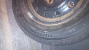 4 WINTER TIRES ON MAGS , MICHELIN X-ICE, LATITUDE 215/170/16 West Island Greater Montréal image 1