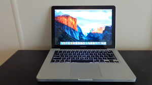 "Late 2011 13"" Macbook Pro with 8GB Memory"