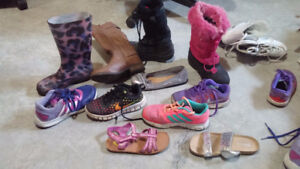 girls boots and shoes assorted