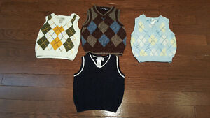 3-6-9 months Vests and shoes & summer bucket hat (Boys)