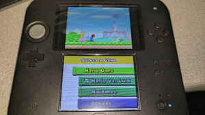 Nintendo 2DS with New Super Mario Bros DS Game