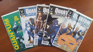 QUANTUM AND WOODY #NM/NM+ #1 (X2), 2,3,4 NEW VALIANT UNIVERSE