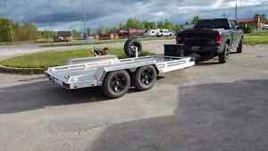16 Foot Custom Aluminum Trailer