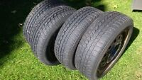 195/60/r15 rims with winter tires incl studs