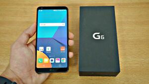 LG G6 64GB BLACK GREAT CONDITION VS SAMSUNG S8+ Trade
