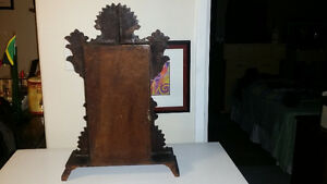 Antique working Gingerbread Clock with Key London Ontario image 4
