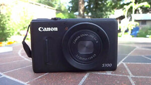 Canon S100 Professional Point and Shoot Camera
