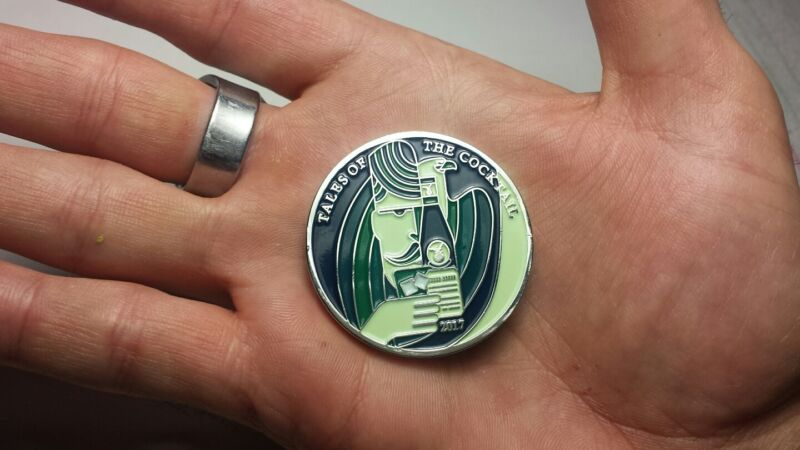 Fernet Branca Challenge Coin - Tales of the Cocktail NEW ORLEANS 2017 RARE!
