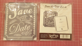 Save the date cards, wedding, party, invite