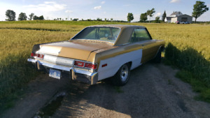 1975 Dodge Dart Swinger ASAP OBO. Turn key classic.
