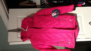 Girls Northpeak winter coat size 7/8 nwt
