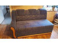 Double bed corner sofa